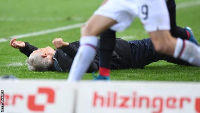 Kapiten Eintrachta udario trenera Freiburga pa nastala opća tučnjava (VIDEO)