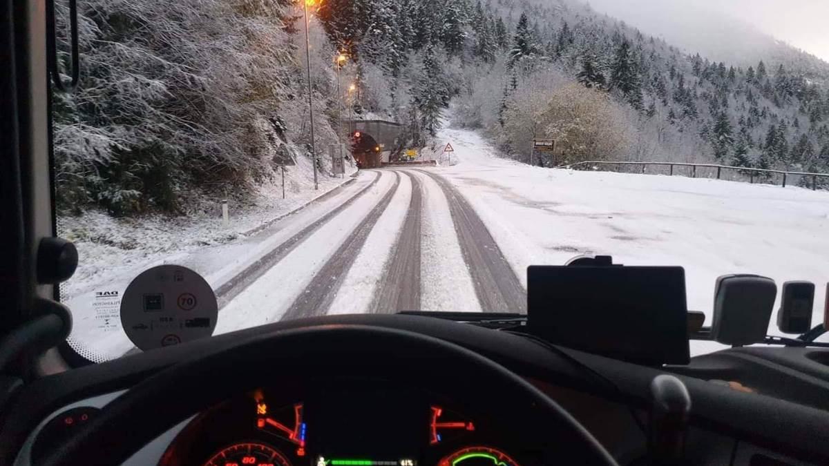 Snijeg na cestama u BiH