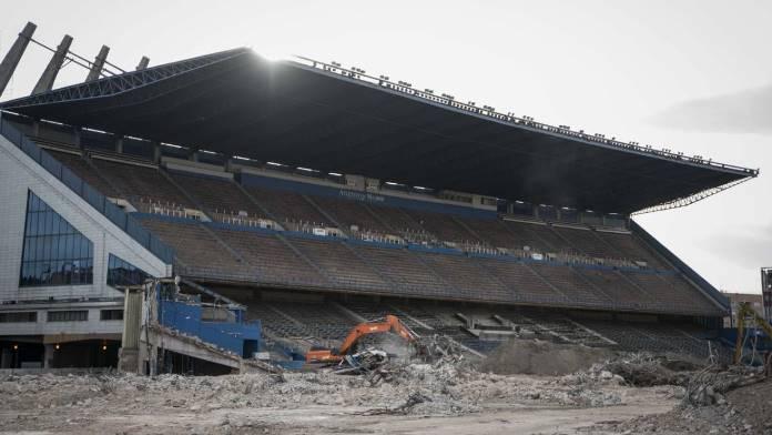 Ostala samo jedna tribina: Nestaje kultni španski stadion na kojem je Hibić bio vođa (VIDEO)