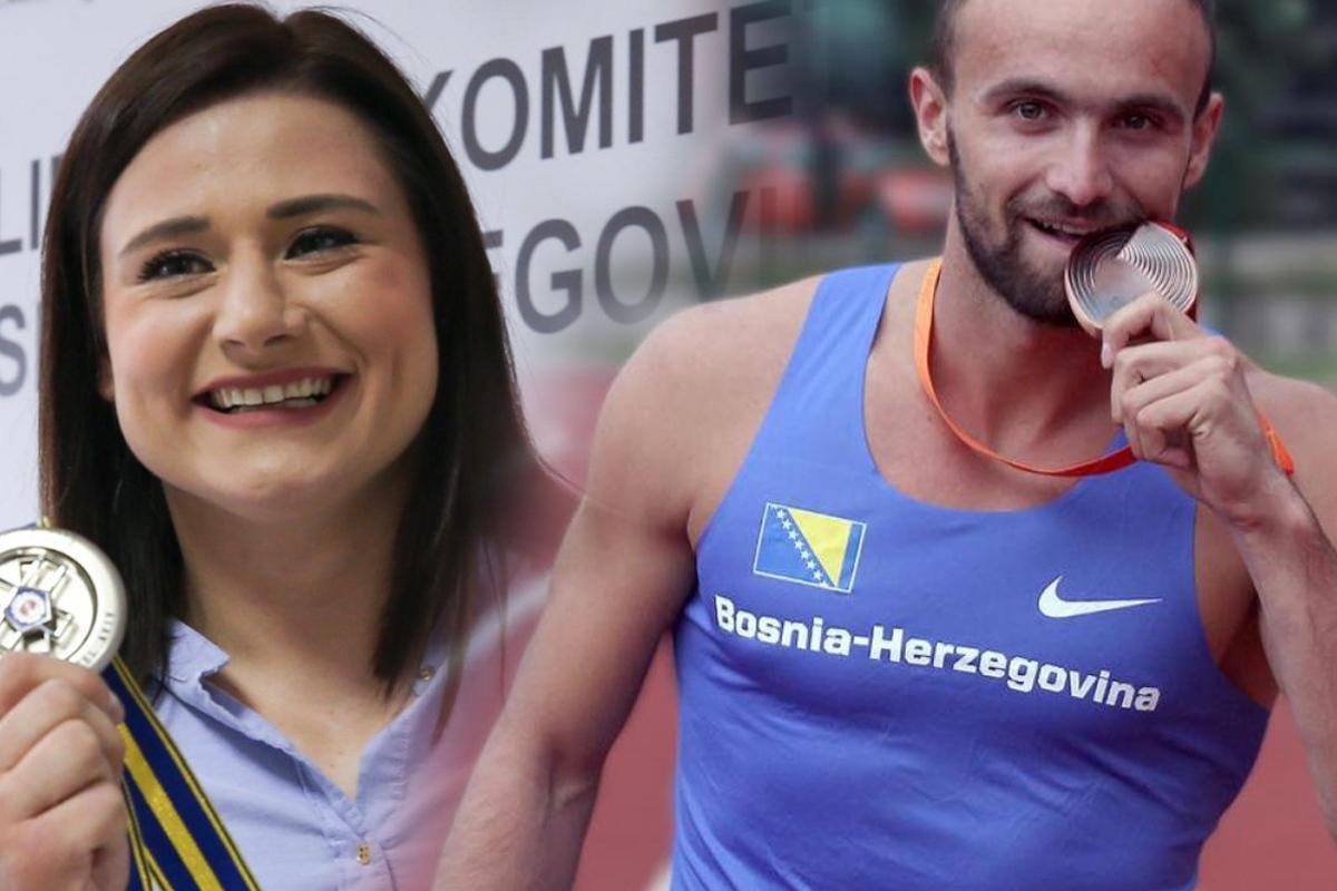 Larisa Cerić i Amel Tuka najbolji sportisti u 2019. godini