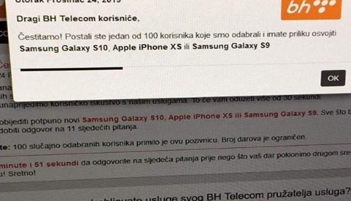 Bh Telecom Nagradna Igra