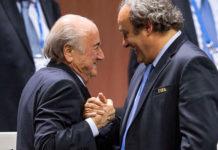 Blatter I Platini
