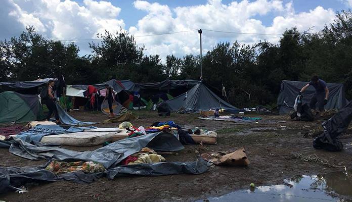 Od danas izmještanje migranata iz kampa Vučjak u kasarnu Ušivak