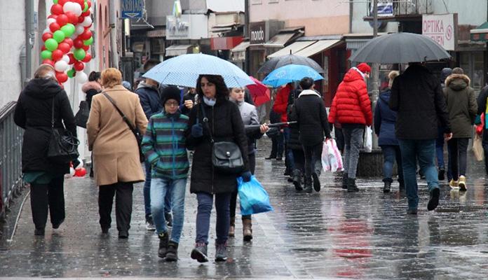 Naredne sedmice u BiH oblačno vrijeme s kišom