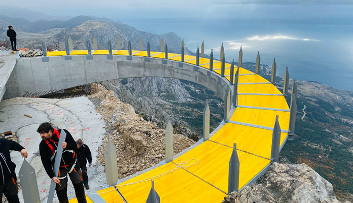 "Iznad Makarske se gradi Skywalk – ""nebeska šetnica"""
