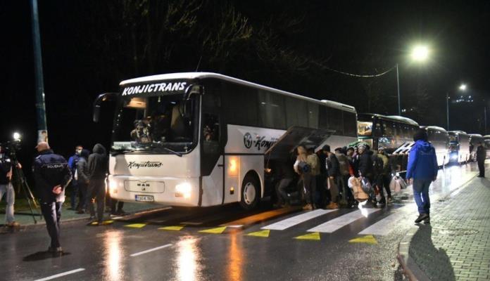 Oko 150 migranata iz Ušivka danas se premješta u Blažuj