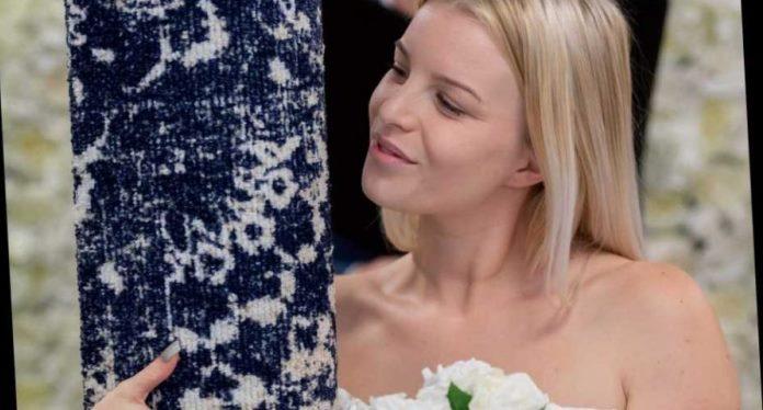 Britanka obukla vjenčanicu i na intimnoj zabavi udala se za tepih