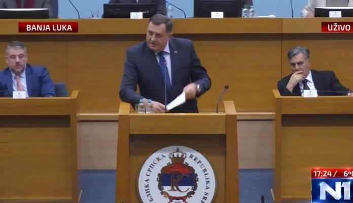 Milorad Dodik: Goodbye BiH, welcome RSEXIT