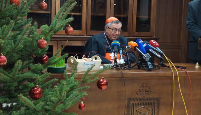 Kardinal Puljić: Bit Božića je ljubav