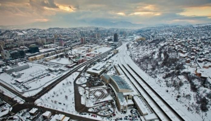 """U Sarajevu pao """"industrijski"""" snijeg"""