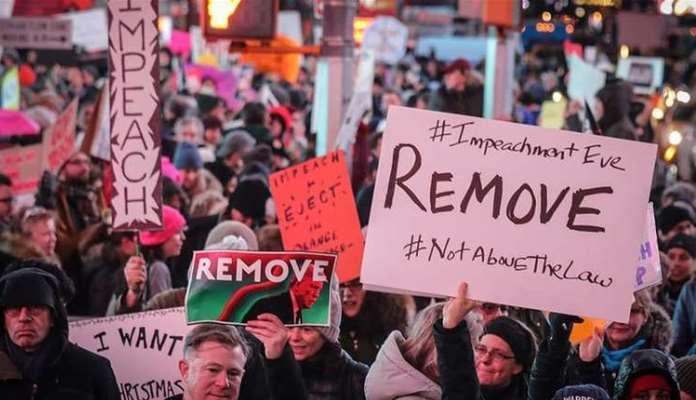 Hiljade na ulicama pred glasanje o opozivu Trumpa