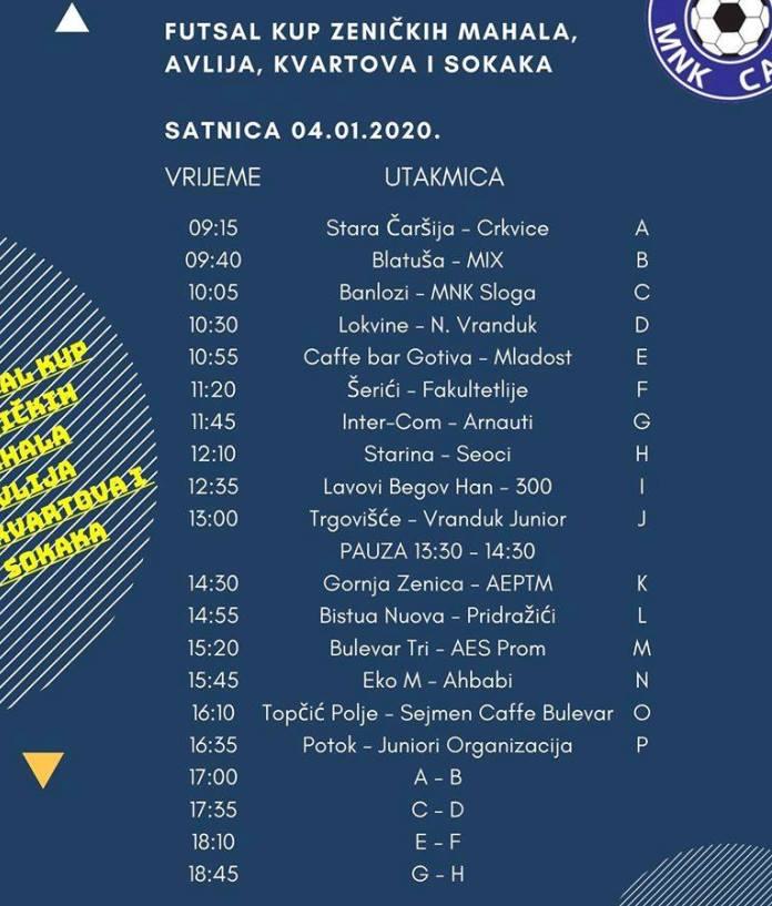 Futsal Kup Zeničkih Mahala 2020