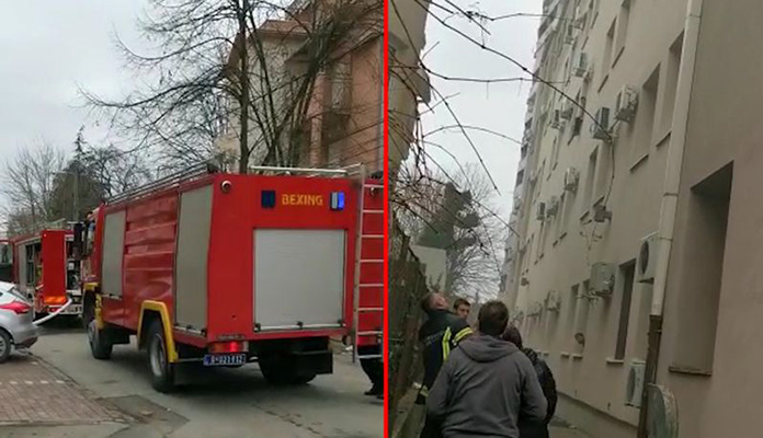 Požar Hotel U Beogradu