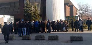 Protest Radnika Zenicatransa