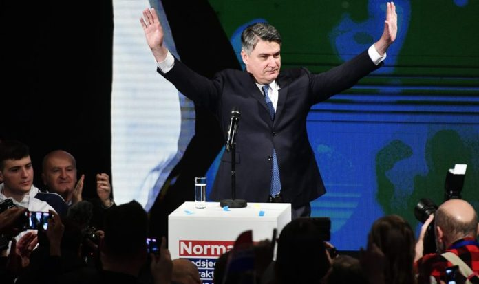 Zoran Milanović je novi predsjednik Hrvatske