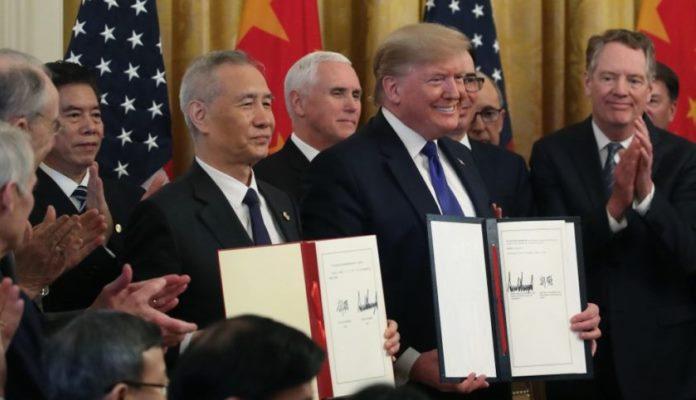 Amerika i Kina potpisale trgovinski sporazum da bi smanjile napetosti u svijetu