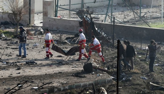 Iran priznao da je nenamjerno srušio ukrajinski avion sa 176 putnika