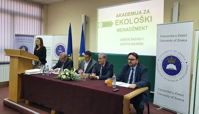 U Zenici ozvaničen početak Akademije za ekološki menadžment