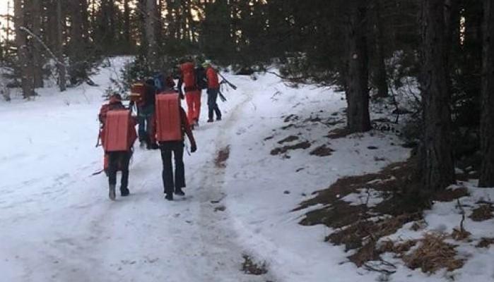Na Trebeviću povrijeđena osoba: U toku akcija spašavanja