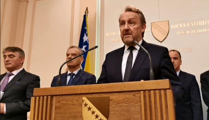 Izetbegović, Radončić i Komšić uputili poruku Dodiku, međunarodnoj zajednici i Srbiji
