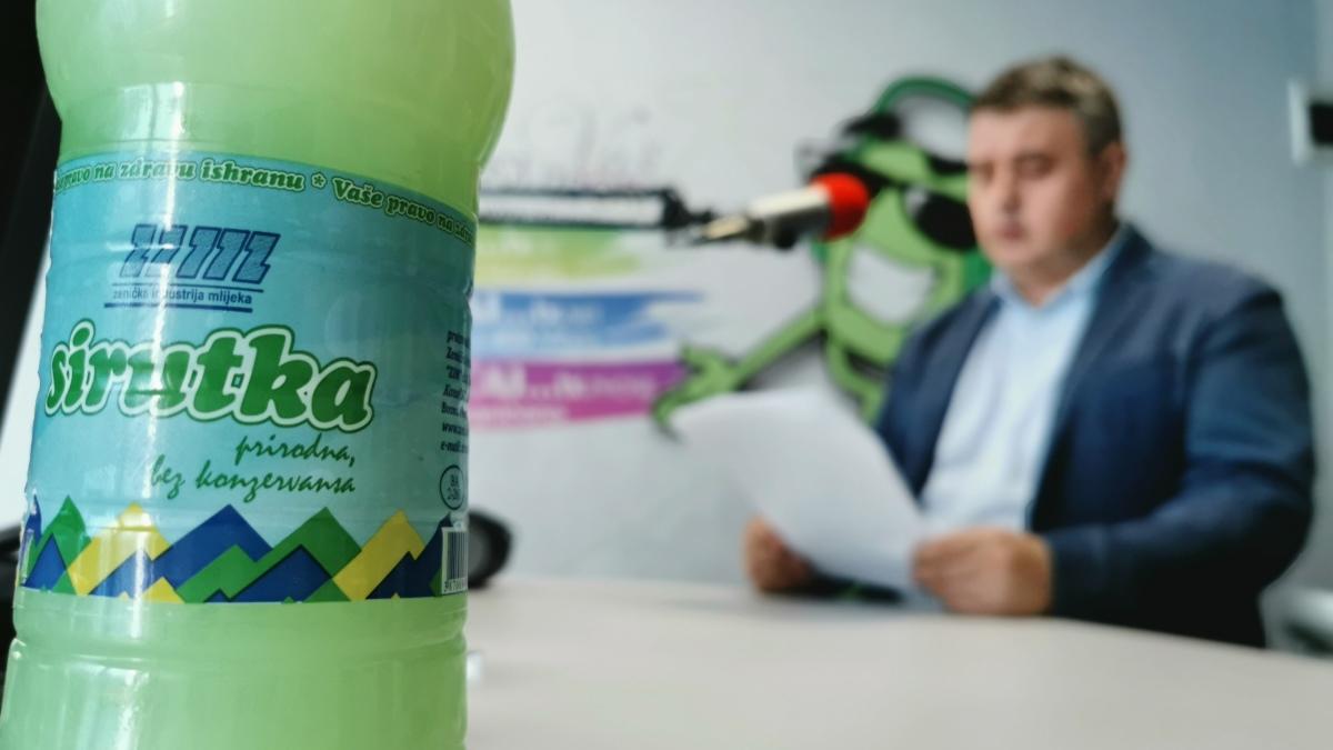 Bektaš: Zenička industrija mlijeka je društveno odgovorna i solidarna kompanija (AUDIO)