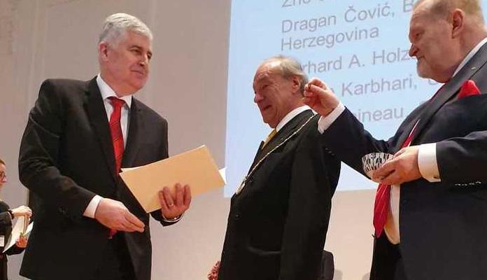 Dragan Čović primljen u Evropsku akademiju nauka i umjetnosti