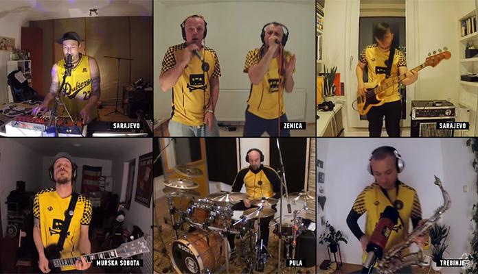 Dubioza kolektiv održala prvi ONLINE koncert (VIDEO)