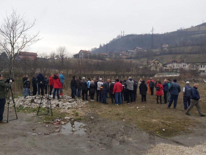 Protest Mjestana Zenica