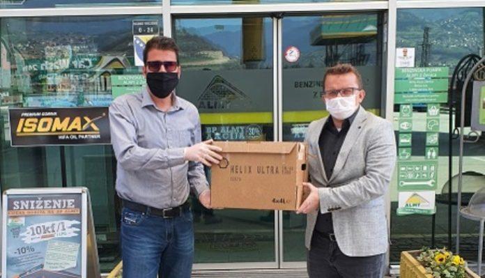 Almy donirao preko 11 hiljada zaštitnih maski