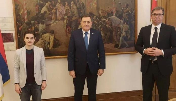 Dodik, Vučić I Brnabić