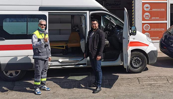 Nastavljena dezinfekcija vozila u Energia Alliance Zenica (FOTO)