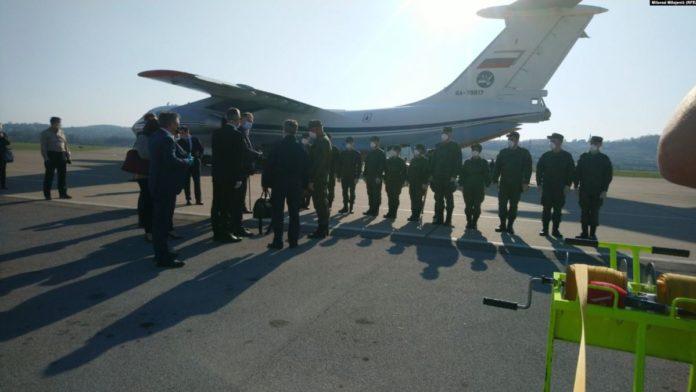 Medicinska oprema i stručnjaci iz Rusije stigli u Banjaluku