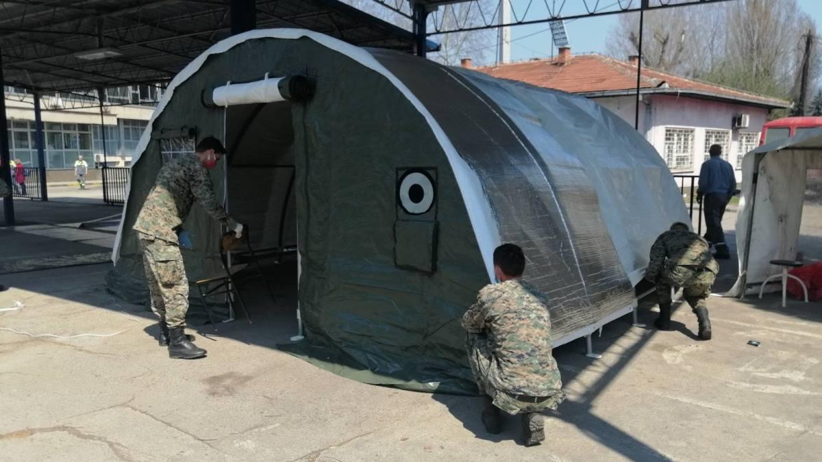 Oružane snage BiH ustupile ZDK šatore i krevete