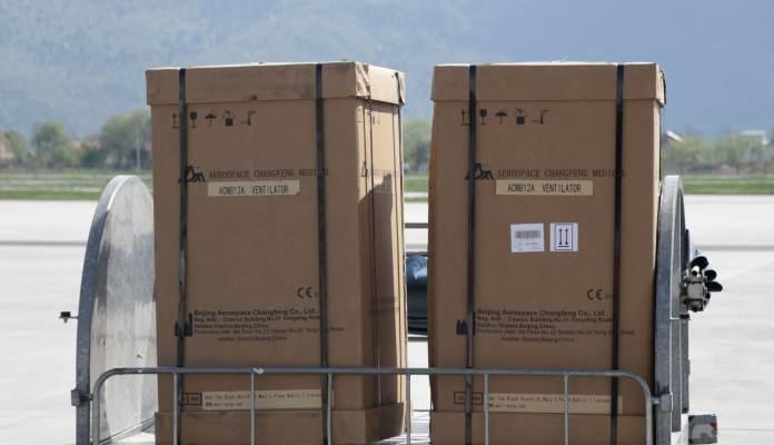 Preostali respiratori stigli iz Kine u Sarajevo