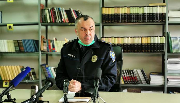 Šut: Ponosan sam na građane u ZDK zbog saradnje s policijom (VIDEO)