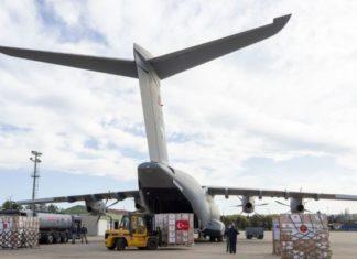 Turska Avion Pomoći