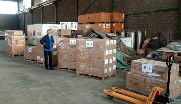 UNDP isporučio 150.000 hirurških zaštitnih maski Civilnoj zaštiti ZDK
