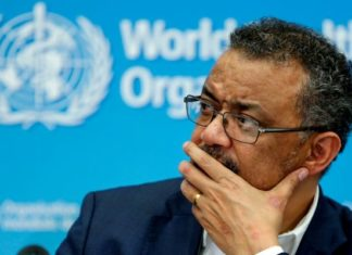 WHO Tedros Getty