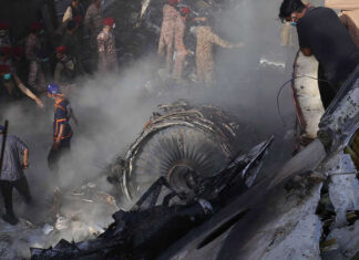 PIA Airbus A 320 Crashed In Karachi