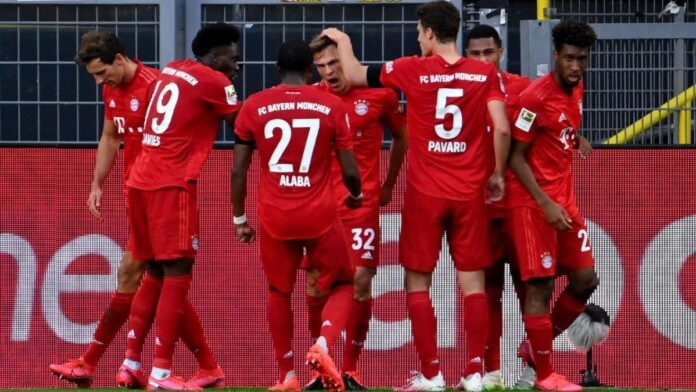 Bayern spektakularnim golom Kimmicha slavio protiv Borussije