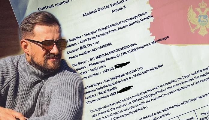 """""""Srebrena malina"""" kupila respiratore preko crnogorske firme, plaćeni 3,9 miliona eura"""