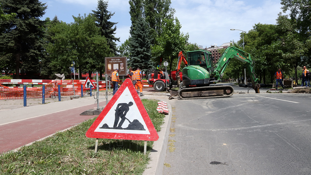 """U Zenici nastavljena izgradnja """"Plavog puta"""" (VIDEO+FOTO)"""