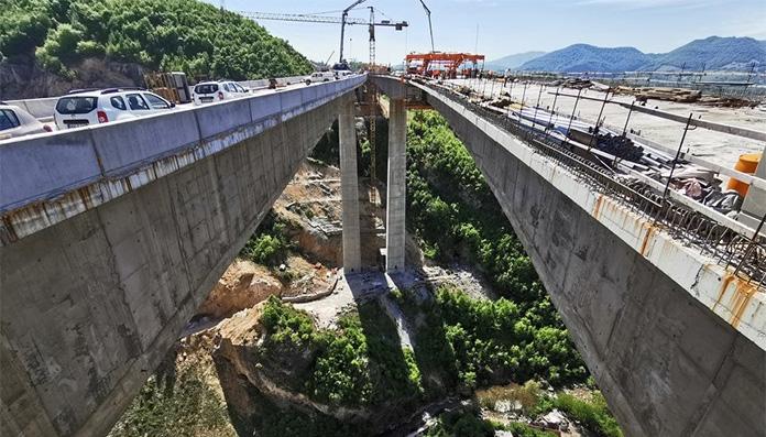BiH dobila najviši izgrađeni objekat na Koridoru 5C, spojen i lijevi vijadukt Babina rijeka