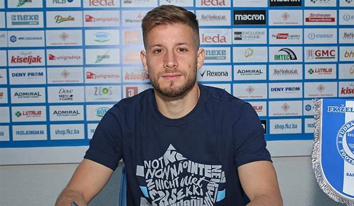 Ante Blažević potpisao ugovor s FK Željezničar do ljeta 2022. godine