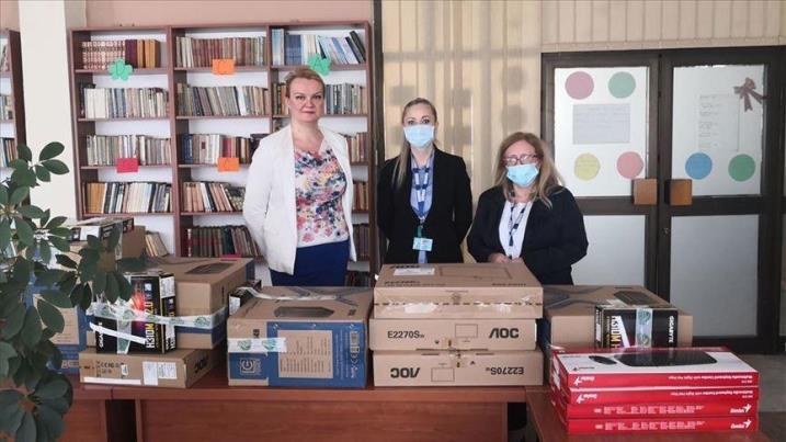 Misija OSCE-a donirala IT opremu domu za djecu bez roditeljskog staranja u Zenici