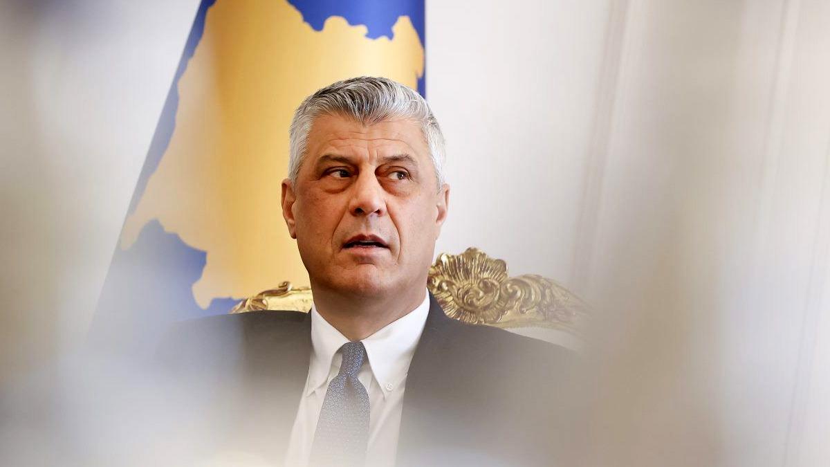 Tužiteljstvo u Haagu podnijelo prijedlog optužnice protiv kosovskog predsjednika Hashima Thacija