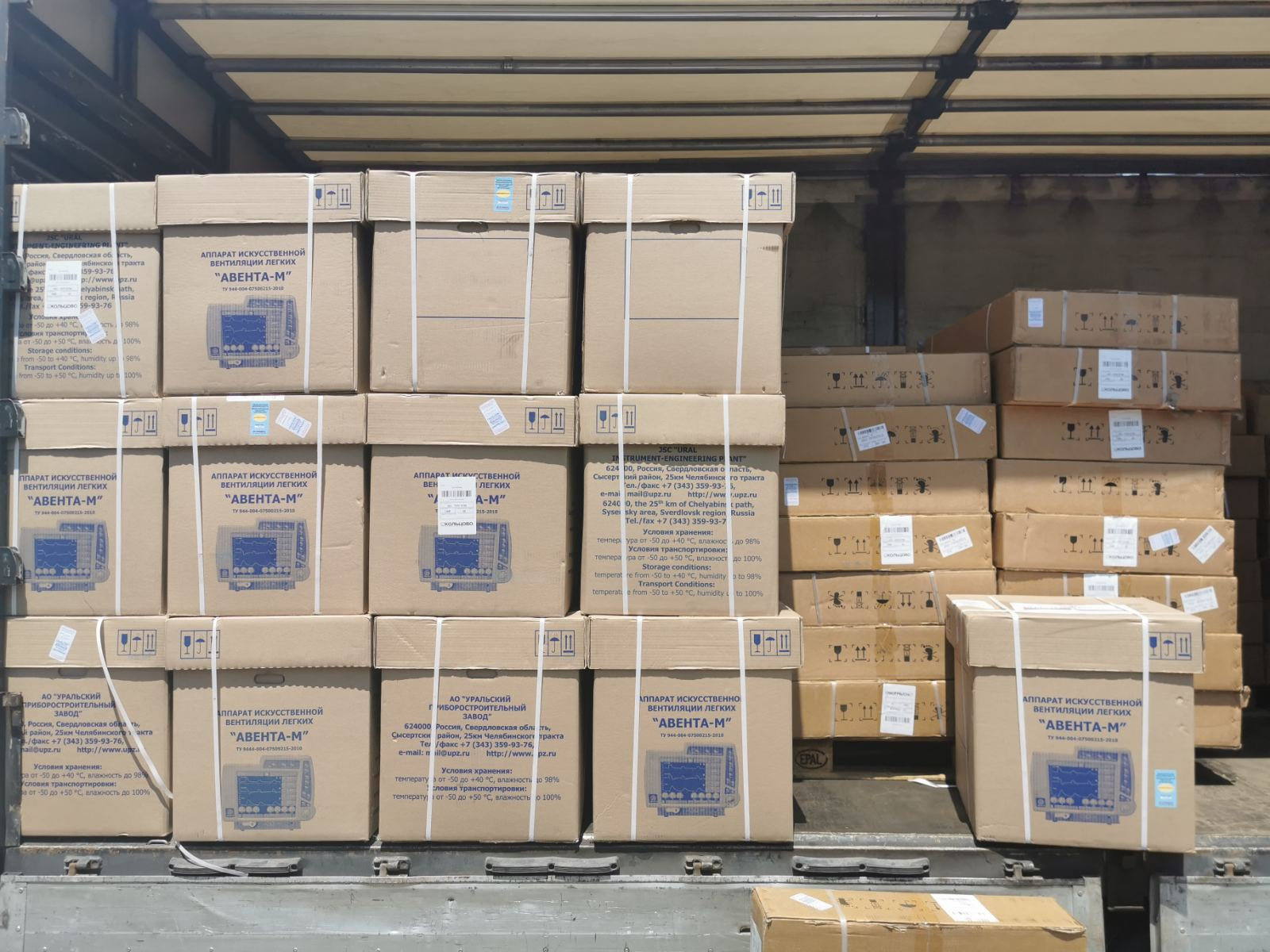 U Bijeljinu stiglo 50 respiratora iz Rusije, jedan košta 46.000 KM