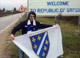 Slikanje Sa Zastavom RBiH