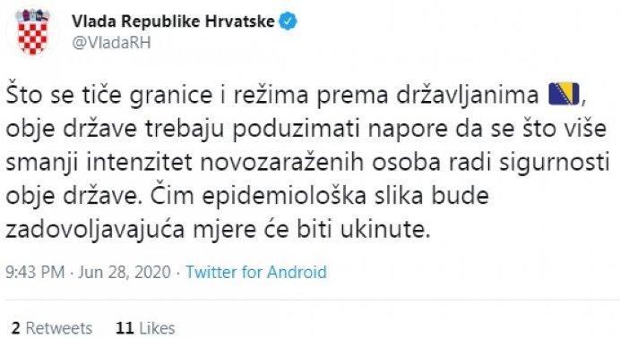 Vlada Hrvatske Granica