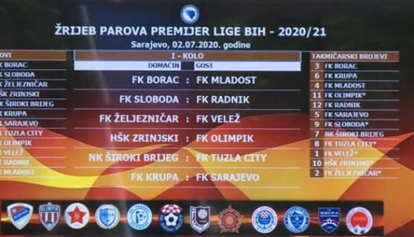 Žrijeb Parova Premijer Lige BiH